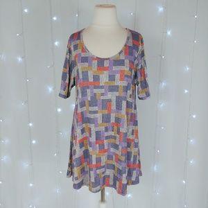 LuLaRoe Purple Perfect T Shirt